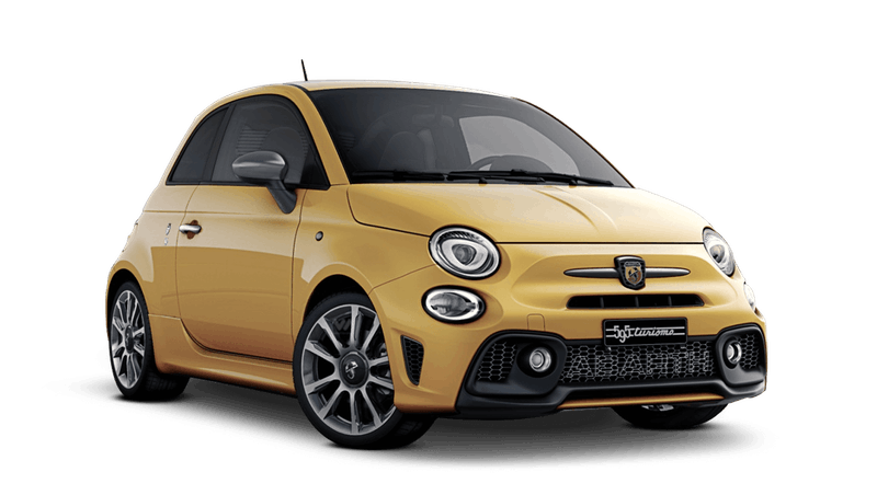 Modena Yellow (Pastel) Abarth 595 Turismo