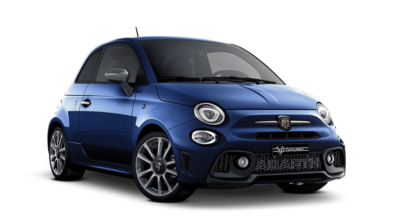 Podium Blue (Metallic) Abarth 595 Turismo