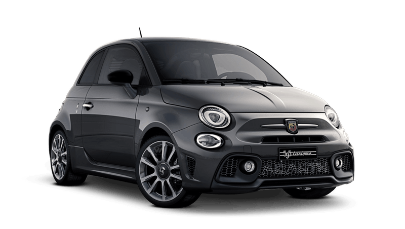 Record Grey with Black Roof (Bi-Colour) Abarth 595 Turismo