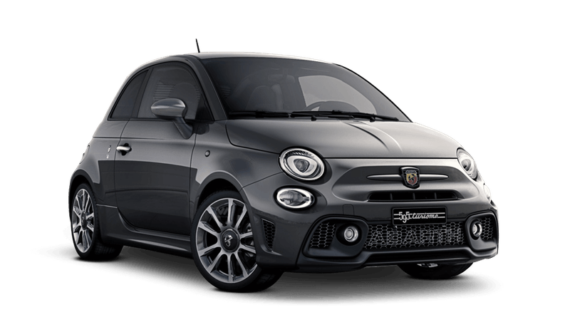 Record Grey (Metallic) Abarth 595 Turismo