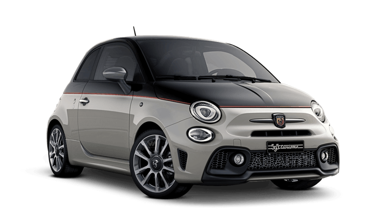 Scorpione Black / Gara White (Bi-Colour) Abarth 595 Turismo