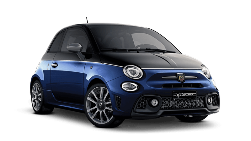 Scorpione Black / Podium Blue (Bi-Colour) Abarth 595 Turismo