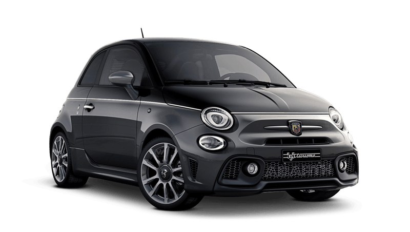 Scorpione Black / Record Grey (Bi-Colour) Abarth 595 Turismo