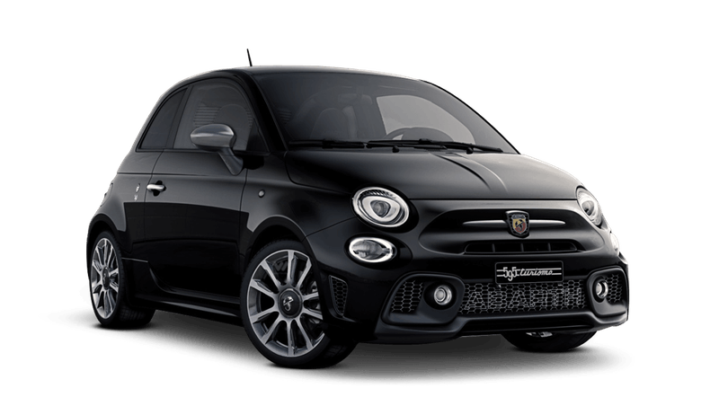Scorpione Black (Metallic) Abarth 595 Turismo