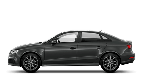 Audi A3 Saloon Black Edition