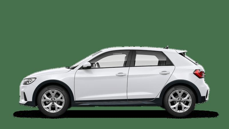 Glacier White (Metallic) Audi A1 Citycarver
