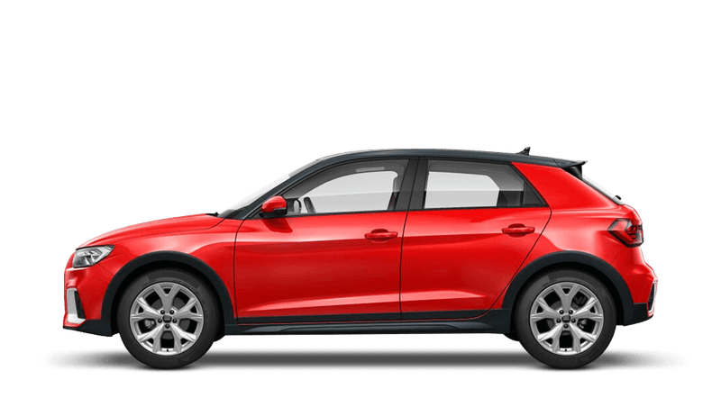 Misano Red (Pearl Effect) Audi A1 Citycarver
