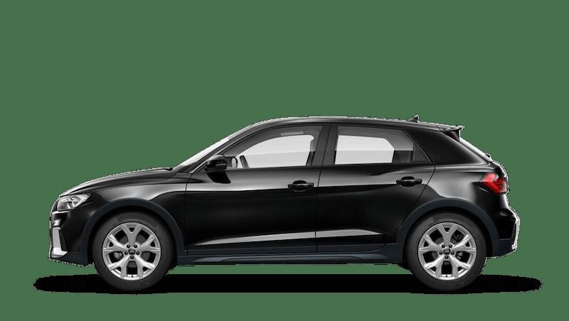 Mythos Black (Metallic) Audi A1 Citycarver