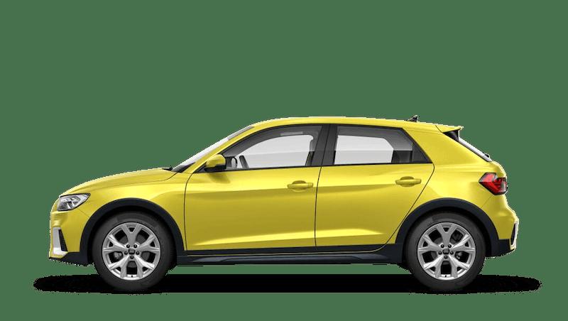 Python Yellow (Metallic) Audi A1 Citycarver
