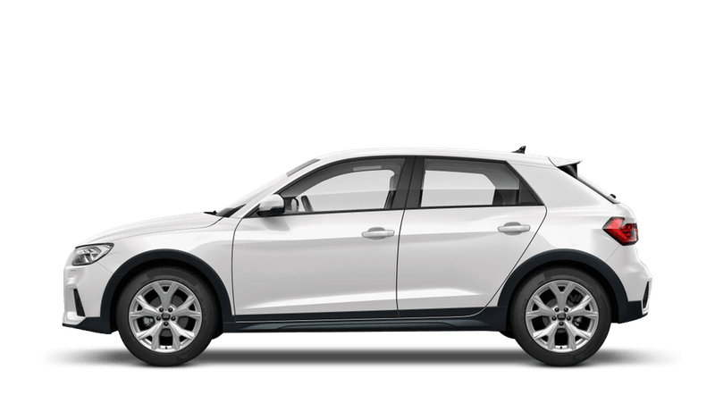 Shell White (Solid) Audi A1 Citycarver