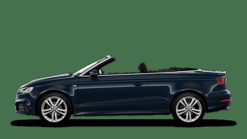 Cosmos Blue (Metallic) Audi A3 Cabriolet
