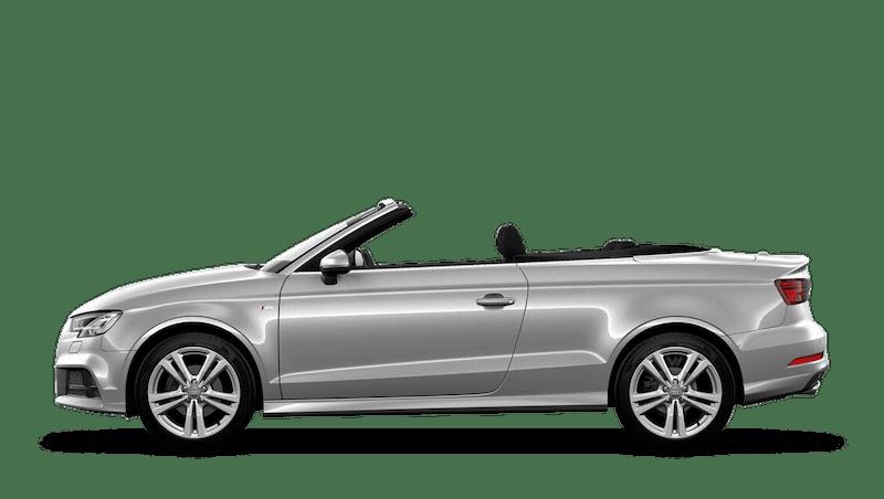 Floret Silver (Metallic) Audi A3 Cabriolet