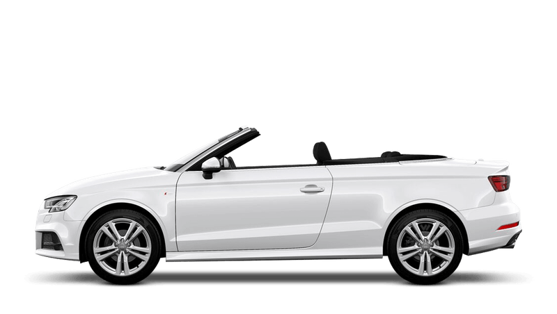 Ibis White (Solid) Audi A3 Cabriolet