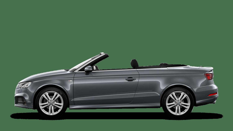 Monsoon Grey (Metallic) Audi A3 Cabriolet