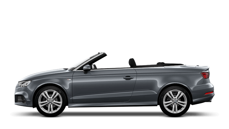 Monsoon Grey (Metallic) Audi A3 Cabriolet