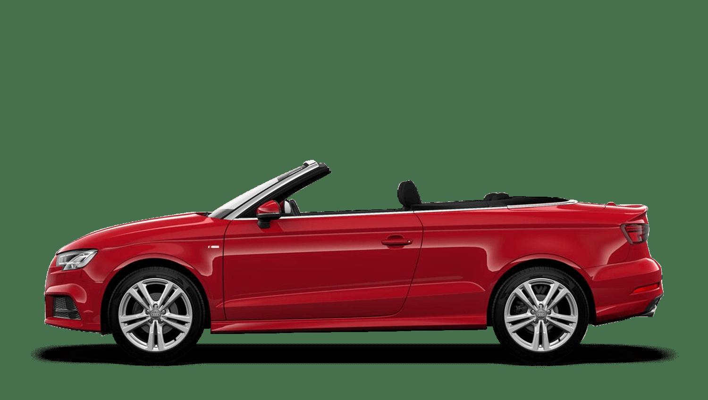 Tango Red (Metallic) Audi A3 Cabriolet