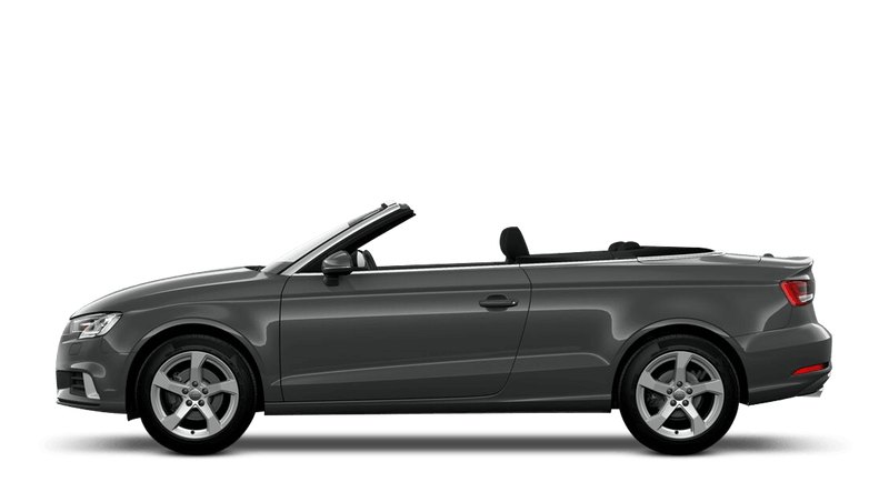 Nano Grey (Metallic) Audi A3 Cabriolet