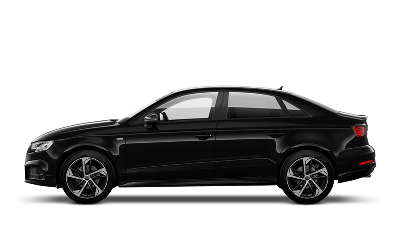 Brilliant Black (Solid) Audi A3 Saloon