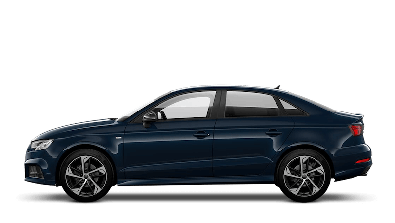 Cosmos Blue (Metallic) Audi A3 Saloon