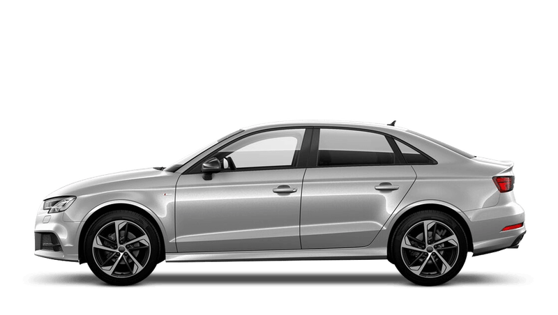 Floret Silver (Metallic) Audi A3 Saloon