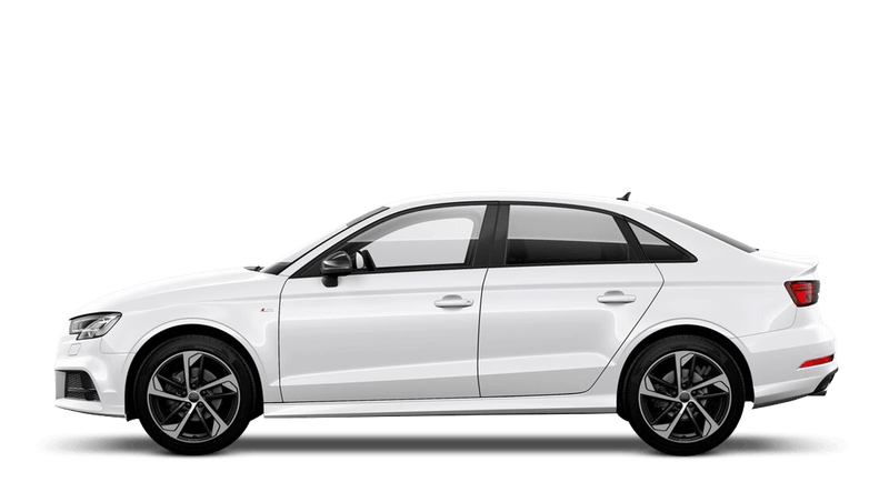 Ibis White (Solid) Audi A3 Saloon