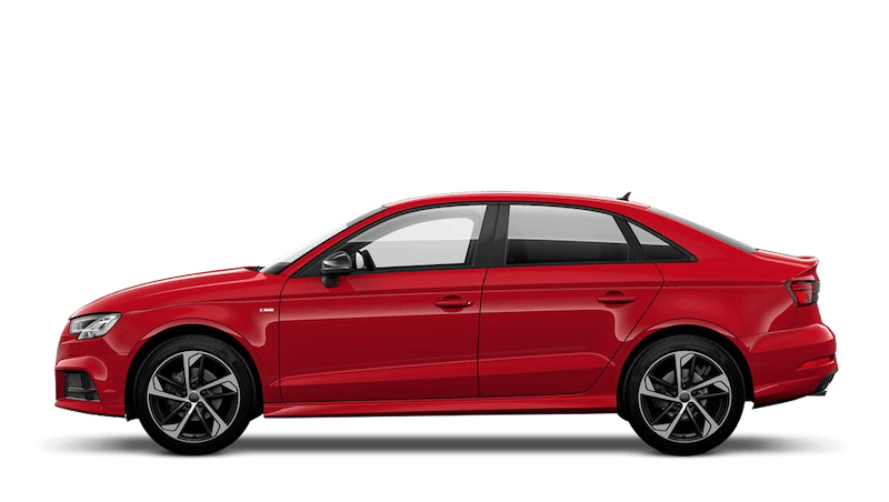 Tango Red (Metallic) Audi A3 Saloon