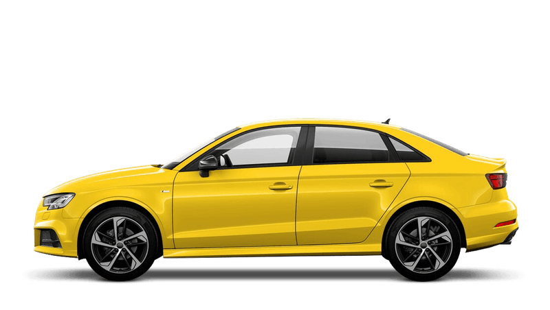Vegas Yellow (Special Solid) Audi A3 Saloon