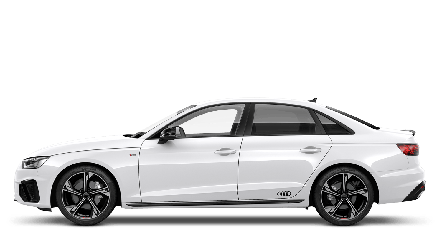 Audi A4 Black Edition 2020 White Supercars Gallery