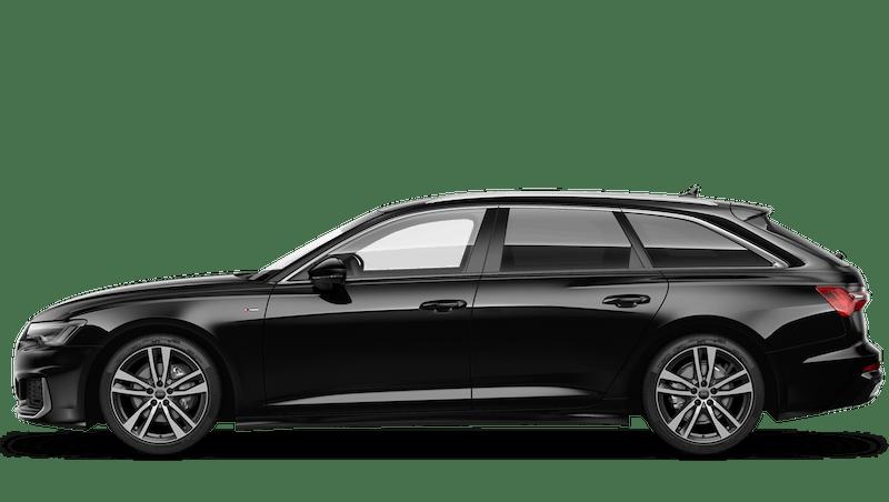 Brilliant Black (Solid) Audi A6 Avant