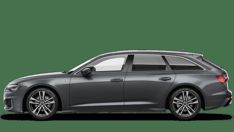 Daytona Grey (Pearl) Audi A6 Avant
