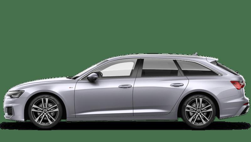 Floret Silver (Metallic) Audi A6 Avant