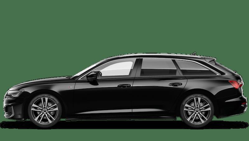 Mythos Black (Metallic) Audi A6 Avant