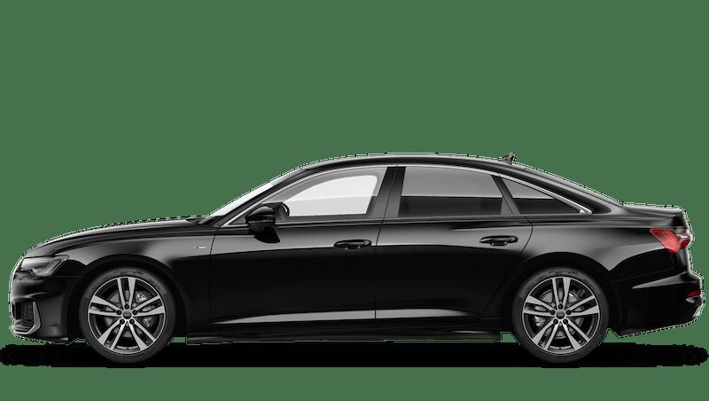 Brilliant Black (Solid) Audi A6 Saloon