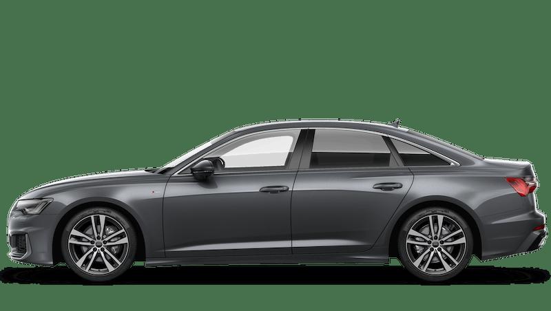 Daytona Grey (Pearl) Audi A6 Saloon