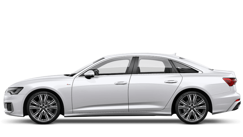 Ibis White (Solid) Audi A6 Saloon