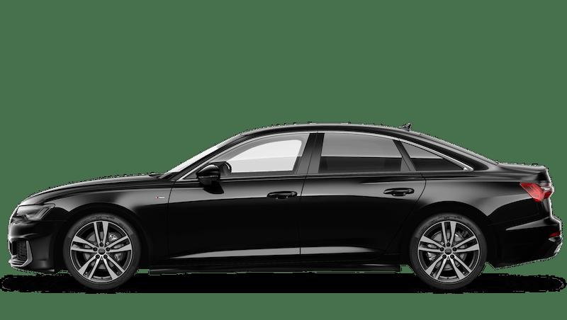 Mythos Black (Metallic) Audi A6 Saloon