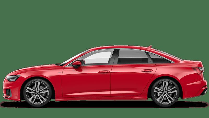 Tango Red (Metallic) Audi A6 Saloon