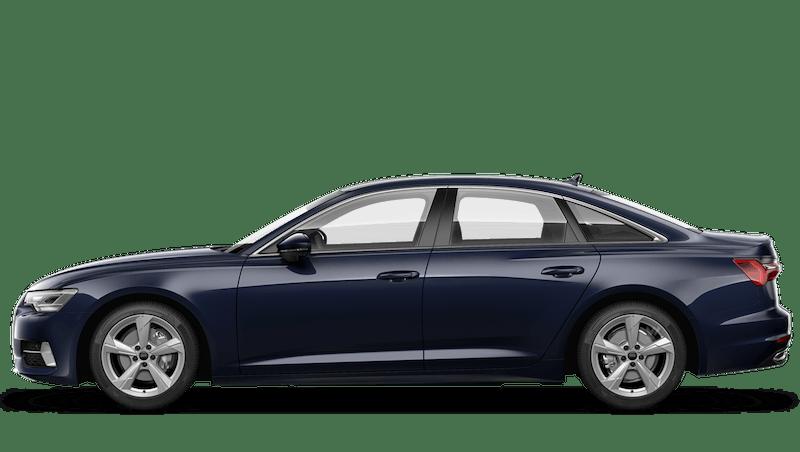 Firmament Blue (Metallic) Audi A6 Saloon
