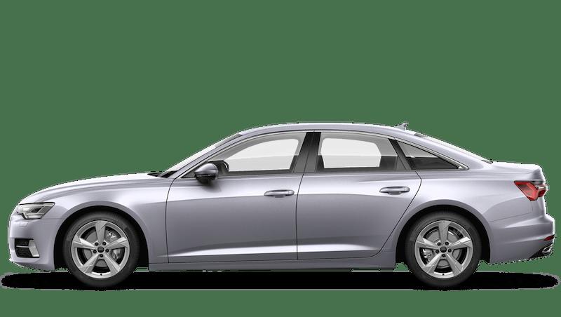 Floret Silver (Metallic) Audi A6 Saloon