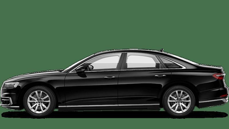 Brilliant Black (Solid) Audi A8
