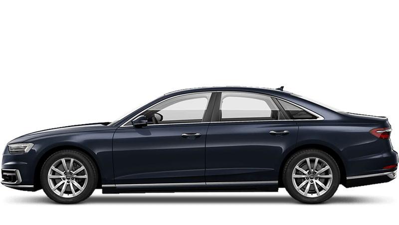 Moonlight Blue (Metallic) Audi A8