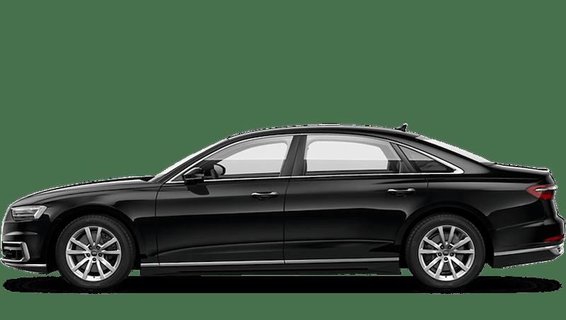 Mythos Black (Metallic) Audi A8 L