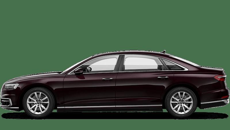 Seville Red (Metallic) Audi A8 L
