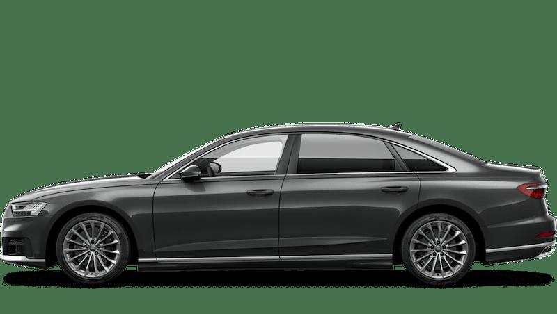 Daytona Grey (Pearl) Audi A8 L