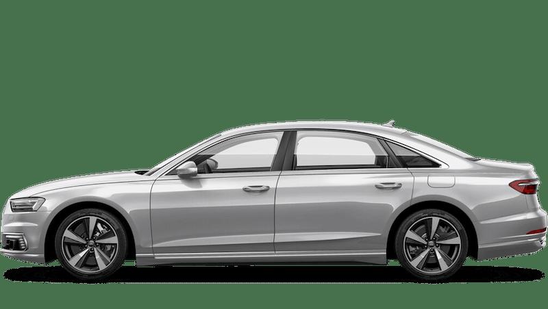 Floret Silver (Metallic) Audi A8 L TFSI e
