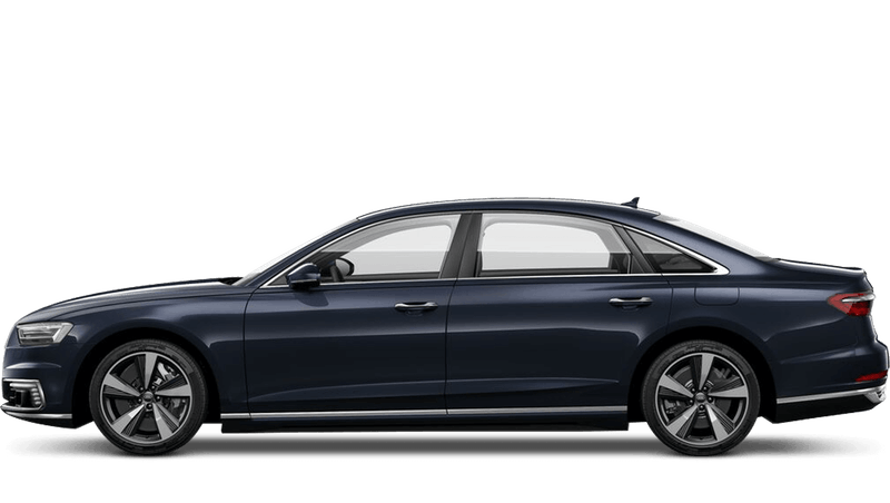 Moonlight Blue (Metallic) Audi A8 L TFSI e