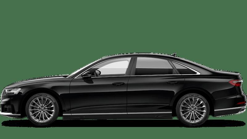Mythos Black (Metallic) Audi A8