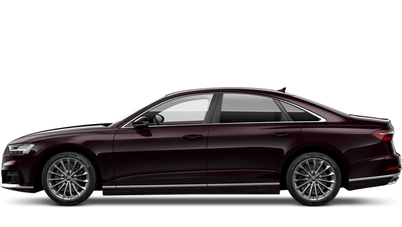 Seville Red (Metallic) Audi A8