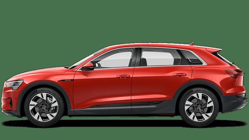 Catalunya Red (Metallic) Audi e-tron