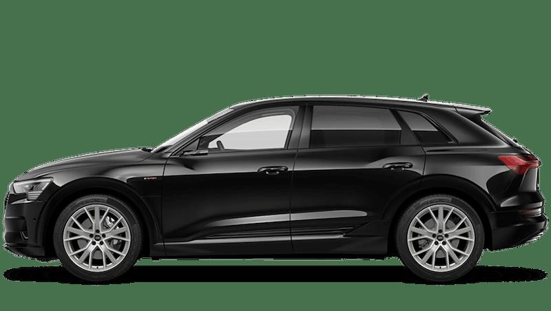Brilliant Black (Solid) Audi e-tron